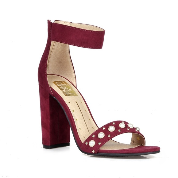 49719f02e66 Rosalind-15 Pearled Women's High Heel Sandals Boutique